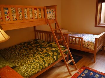 Kids room on the lower level.