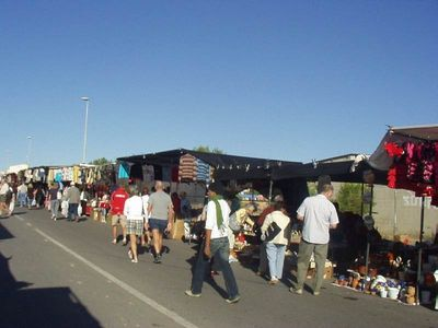 Saturday Market 200 metres