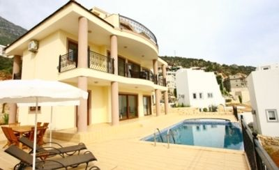 Imagine...You and Your Family Renting a 5-Star Turkey Holiday Villa in Kalkan