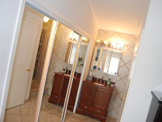 Rockport house photo - Master bath w/closets, private commode and...next pic-