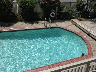 Oceanside condo photo - The private heated pool for the A building only