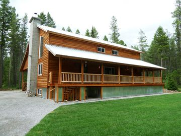 Our home is located on nearly 2.5 wooded acres with a 2900 sq. ft. lawn.
