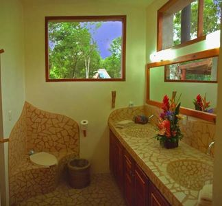 All bathrooms are clean, large, airy, ecologically friendly, and comfortable.