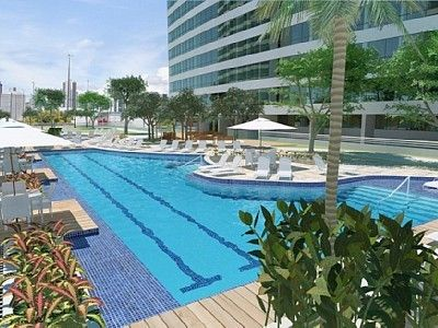 Comfortable and decorated with refinement and good taste, wonderful view of Recife