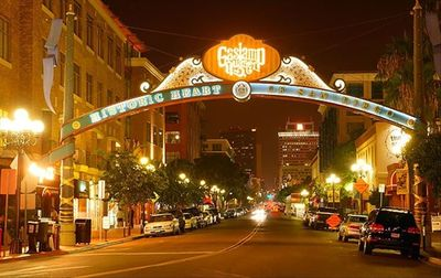 Tons of restaurants and nightlife in the Gaslamp Quarter