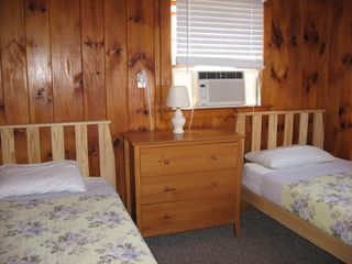 Harwich - Harwichport house photo - Second bedroom in the West Wing with two organic twin beds.
