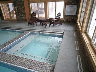 Built In Spa in the Indoor Pool Area - Newry house vacation rental photo
