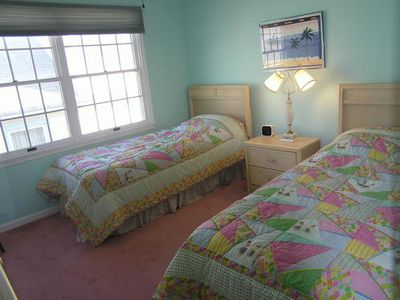 Ocean City South End condo rental - Bedroom w/ Twins