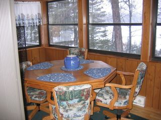 St Germain cabin photo - All Season Porch