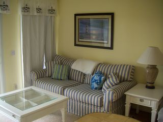 All new furniture with sleeper sofa. - Isle of Palms condo vacation rental photo