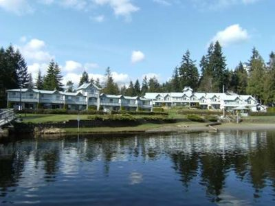 Shawnigan Lake Resort from the Lake