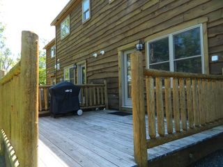 Carrabassett Valley condo photo - Back deck with a grill