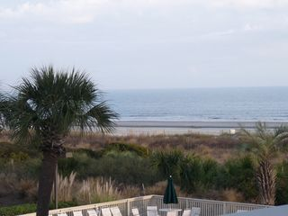 Forest Beach condo photo - View of Ocean from Breakers #221 Private Balcony