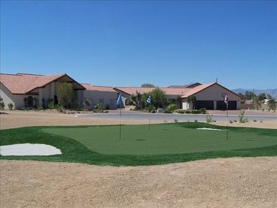 Private 2.5 acre estate with golf course