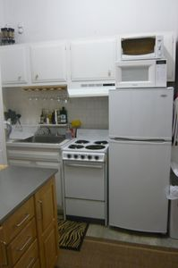 Small but full kitchen