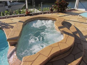 Cape Coral villa rental - Spa