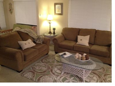 FULL SIZE COUCH AND LOVESEAT