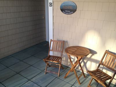 Welcome to Bluefin Bay Condo at Islander Resort Villas!    (Front Porch)
