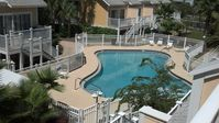 Luxury 2B/2B Townhouse within steps from the beach. Private pool/courtyard.