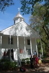 Daufuskie Island cottage photo - Functioning Historic Church
