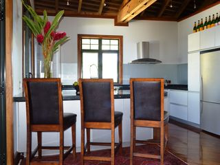 Cook Islands villa photo - Kitchen area