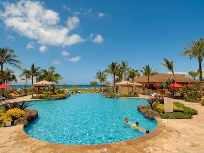 Kaanapali condo rental - Pool #1... 1 of 3 pools!