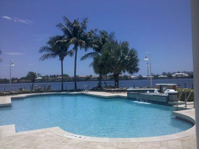 Main Pool Area on the Intracoastal