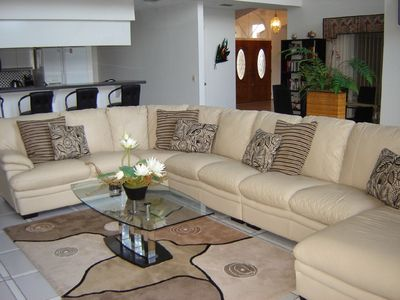 Punta Gorda villa rental - Living Room