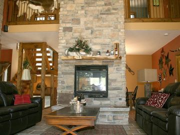 Living Room w/Fireplace