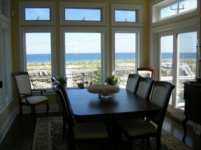 Dining Room with View of Atlantic Ocean