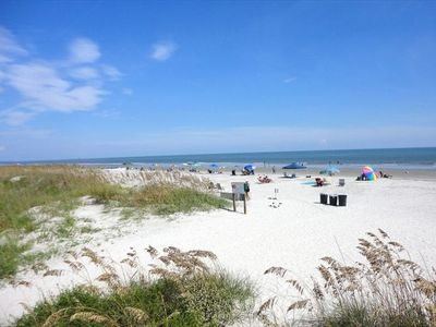 This is the best beach in all of Hilton Head!  Swim, Sun, Walk and/or Ride Bikes