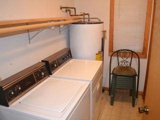 Gatlinburg chalet photo - Washer and dryer available for your convenience. Laundry room is downstairs.