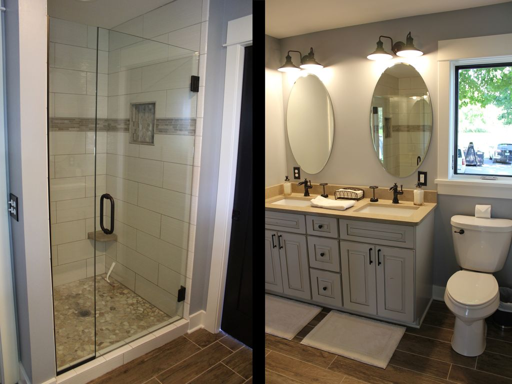 Beautiful Master Bath With Double