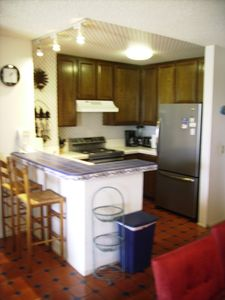 Breakfast Bar and the Kitchen.