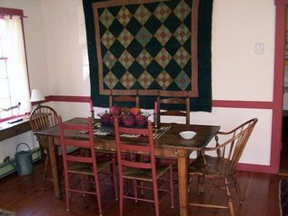 Siasconset cottage photo - Dining area