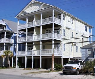 Carolina Beach house rental - 1204 Canal Drive