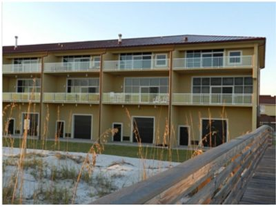 View of Town Home Building from Beach Side