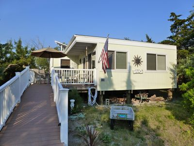 New Fire Island Beach Home With Bay View In Family Community Vacation Rental