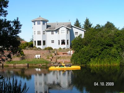 Ocean Shores Gibson home on a Summer Day