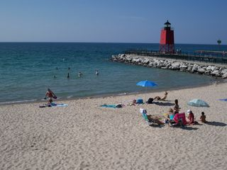 Charlevoix house photo - Lake Michigan Beach