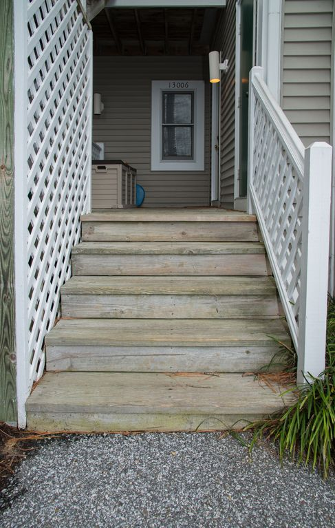 Steps from path to front door