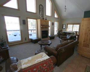 Pagosa Springs house photo - Great Room Looking Toward Pagosa Peak