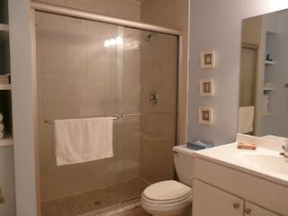 Indian Shores condo photo - Bathroom with double shower