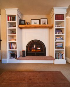 Fireplace in your living room