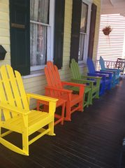 Cape May house photo - Front Porch Rockers