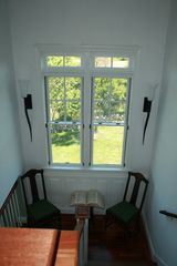 stairwell facing north - Block Island house vacation rental photo