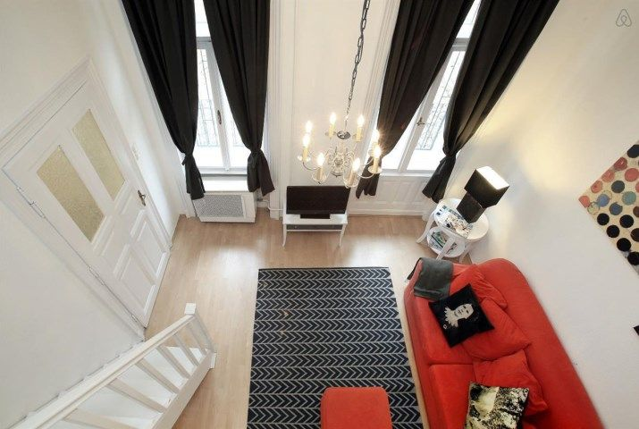 A trendy place in the best area - One Bedroom Apartment, Sleeps 4