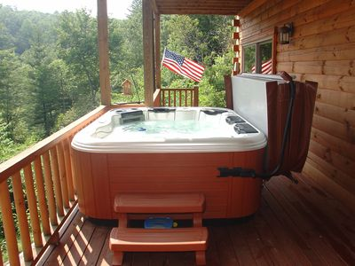 Hot Tub! Always hot!