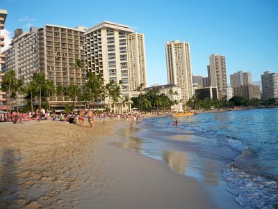 Famous Waikiki Beach-Come Down & Put Your Toes in the Warm, Soft, Perfect Sand!!