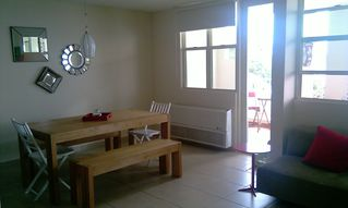 Aguadilla apartment photo - The dining area has an ocean view.